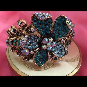Stunning Blue and Gold Bracelet